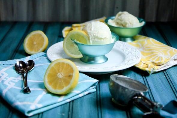 honey lemon zest frozen yogurt (giveaway) « Food « back to her roots