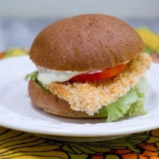 baked spicy chicken sandwiches (wendy's inspired)