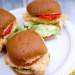 baked spicy chicken sandwiches (wendy's inspired)