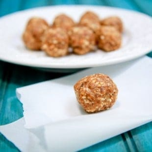 peanut butter cookie date bites