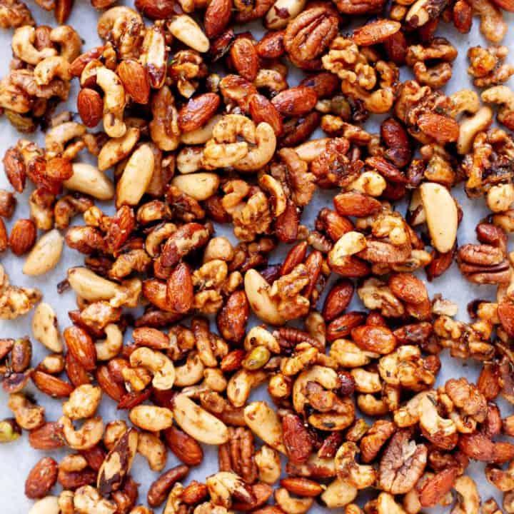 Maple Rosemary Bar Nuts