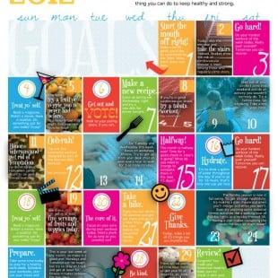 wellness calendar: november 2012 (free printable)