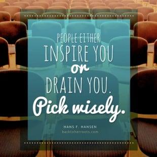 monday motivation: pick wisely