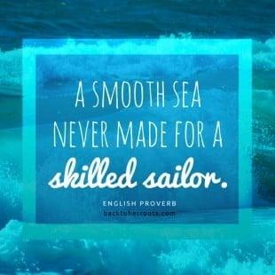 monday motivation: smooth sailing