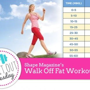 try it out tuesday: walking off fat treadmill workout
