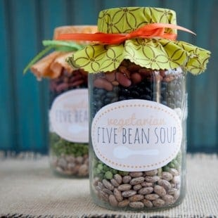 vegetarian five bean soup mix