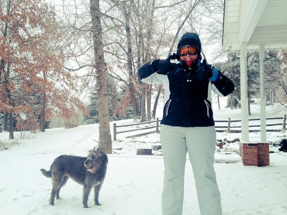 me puppyface snow