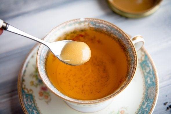 tea honey