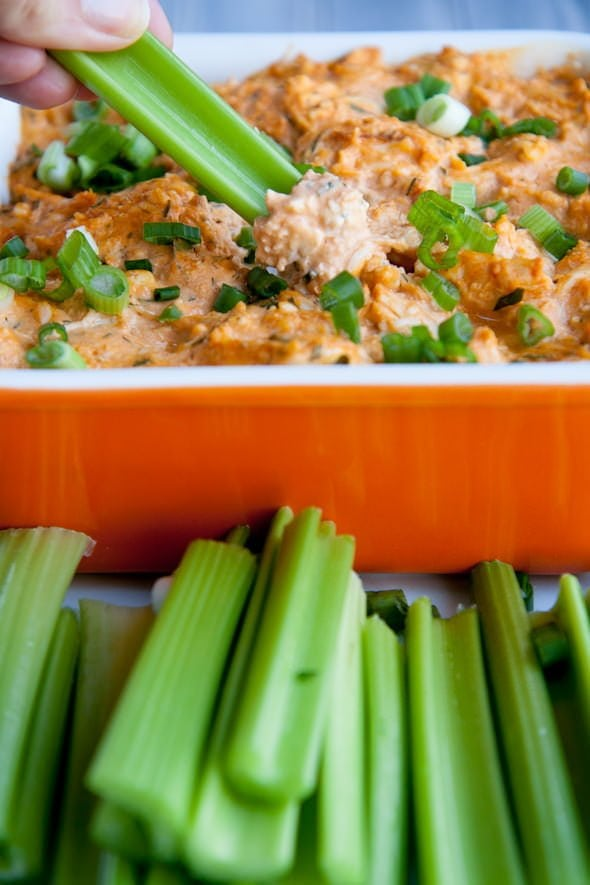 buffalo chicken dip with blue cheese