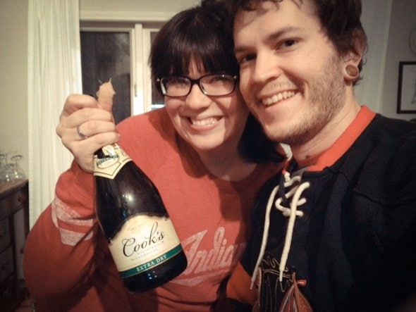 babyface me champagne