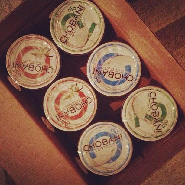chobani yogurt box