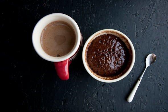 coffee microwave cake
