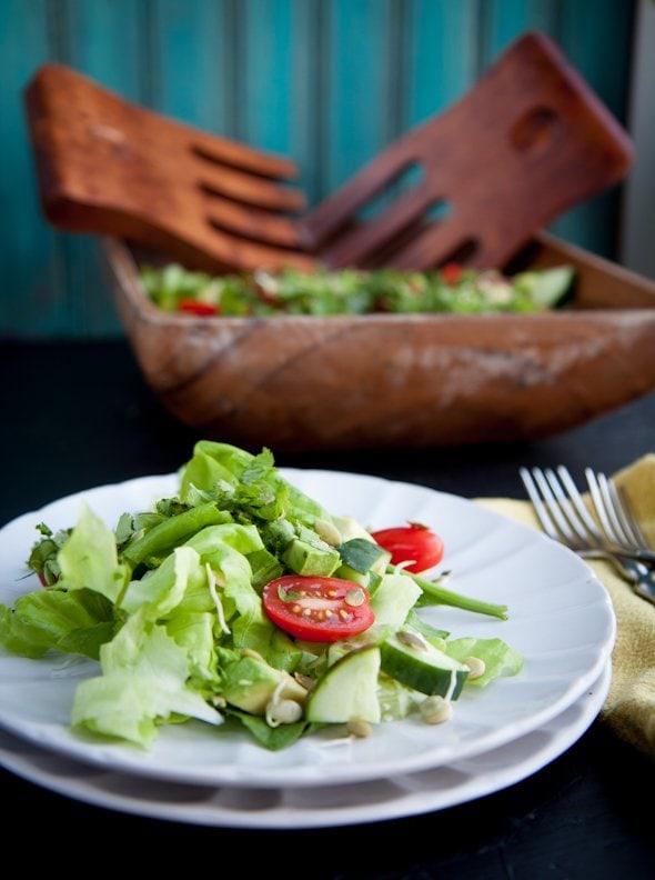 living salad