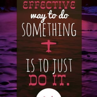 monday motivation: do it