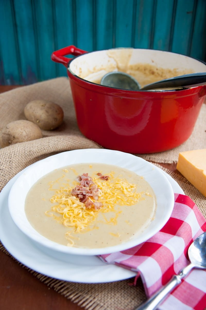 velvety potato soup | Wholefully