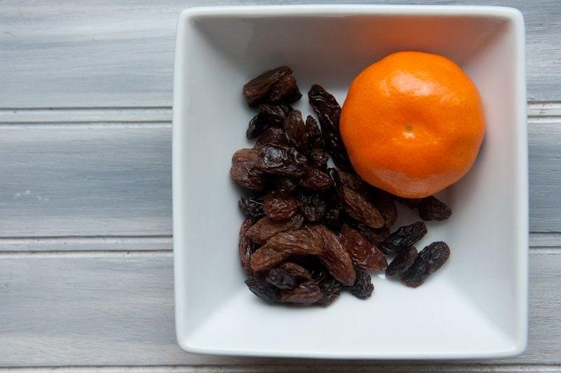 raisin clementine