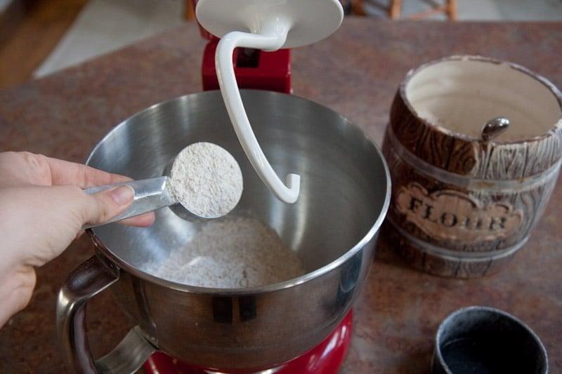 mixer flour