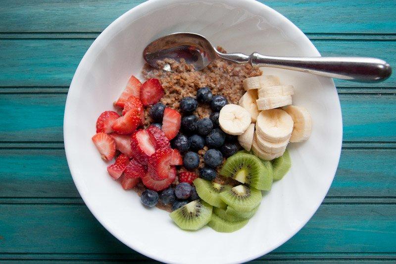 breakfast cereal fruit