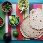 whole wheat coconut tortillas