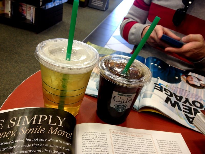 coffee tea magazine bookstore