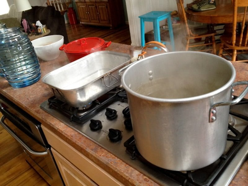 sap boiling