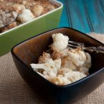 cauliflower and farro bake