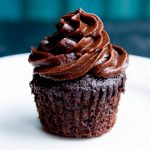 fudgy dark chocolate date frosting