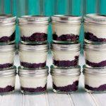 homemade fruit on the bottom yogurts