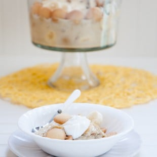coconut milk banana pudding