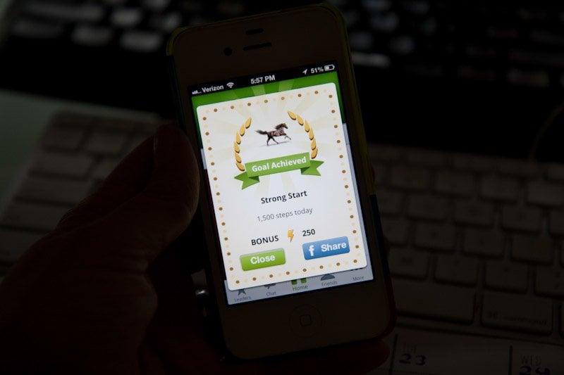 iphone pedometer