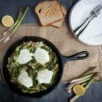 midnight asparagus and eggs