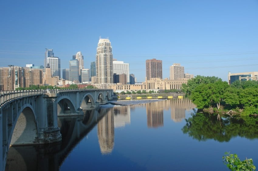 MINNEAPOLIS_Skyline