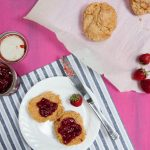 low-sugar strawberry balsamic jam