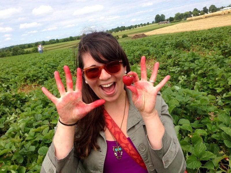 me strawberries