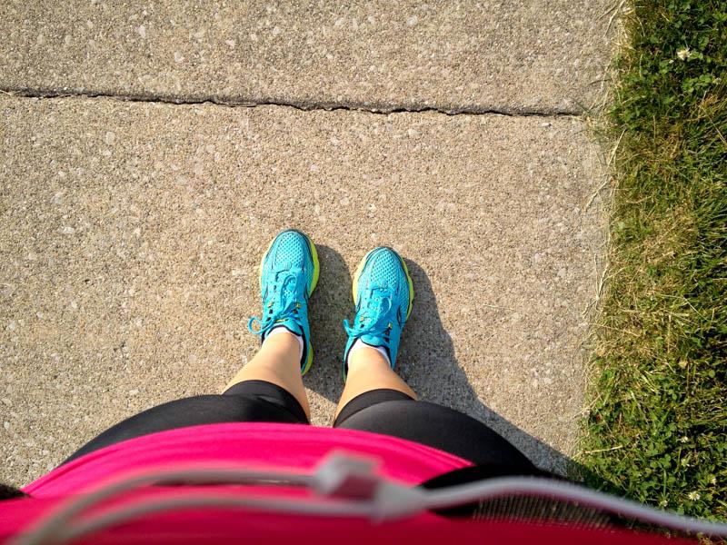 me feet walk