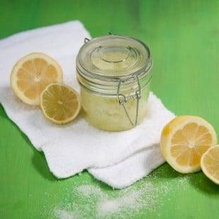 citrus coconut sea salt scrub