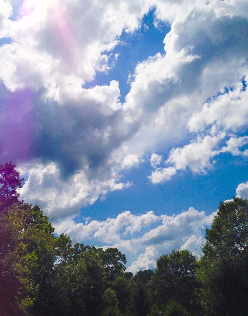 clouds sky stock