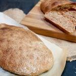 whole grain ciabatta bread