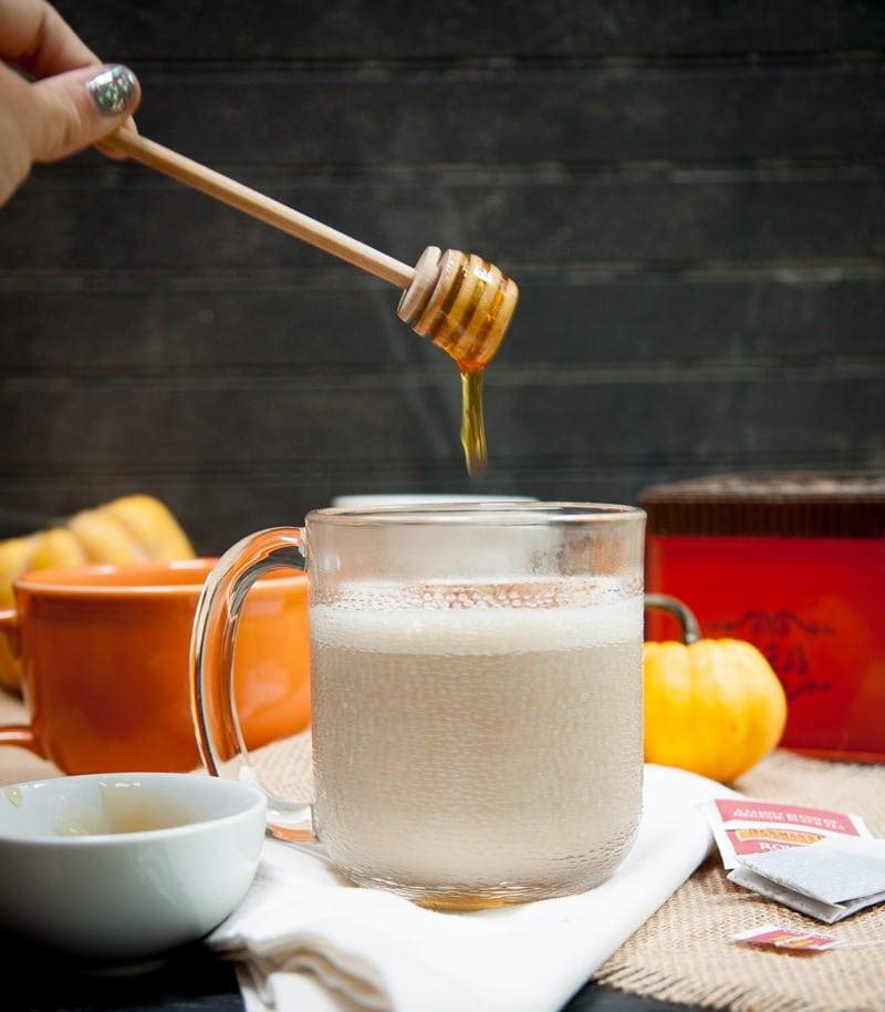Vanilla Honey Chai Tea Lattes