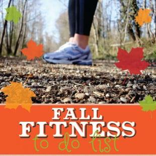 fall fitness to do list (free printable)