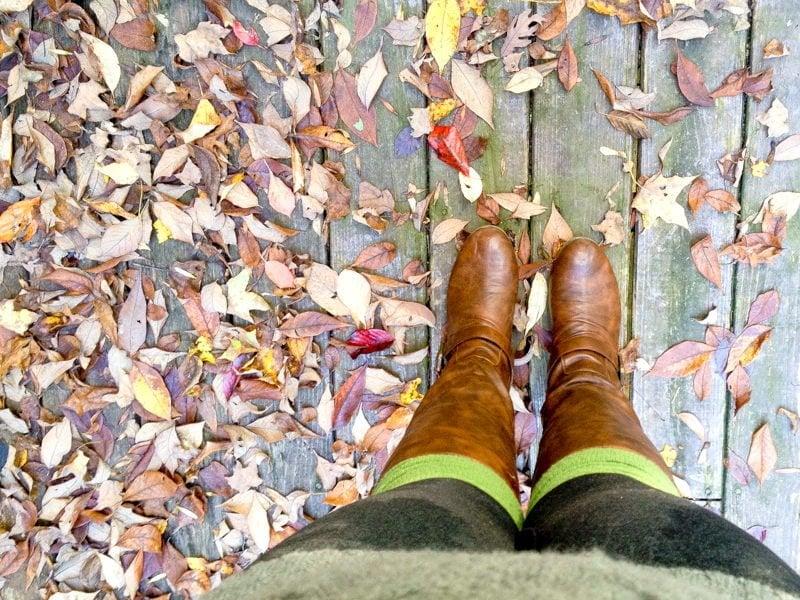 me feet fall