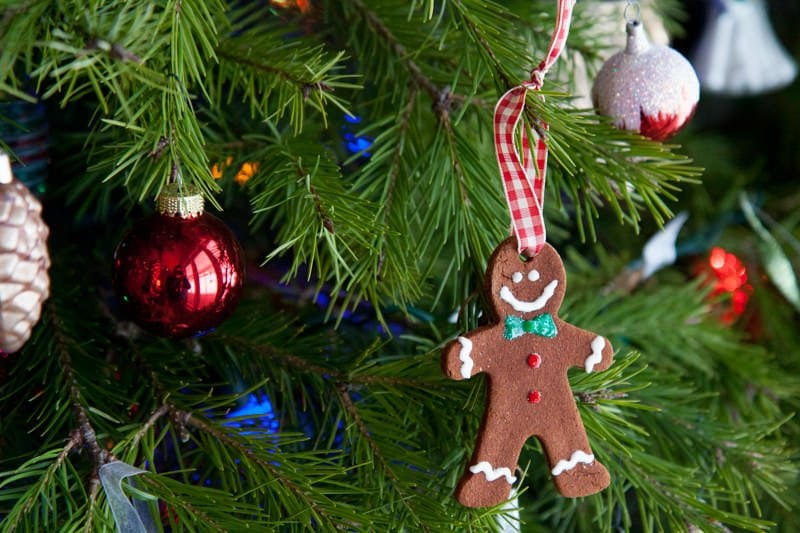 super easy homemade cinnamon ornaments - Wholefully