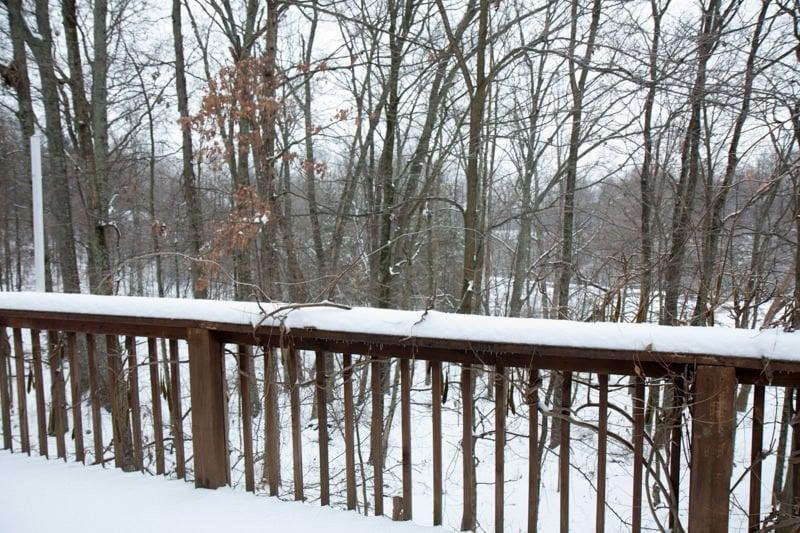 deck snow