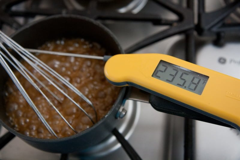 thermometer taffy stove