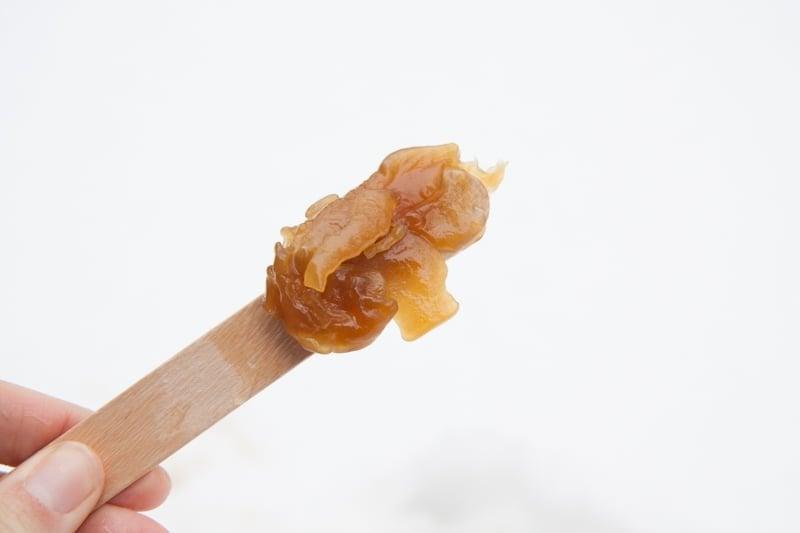maple syrup snow taffy