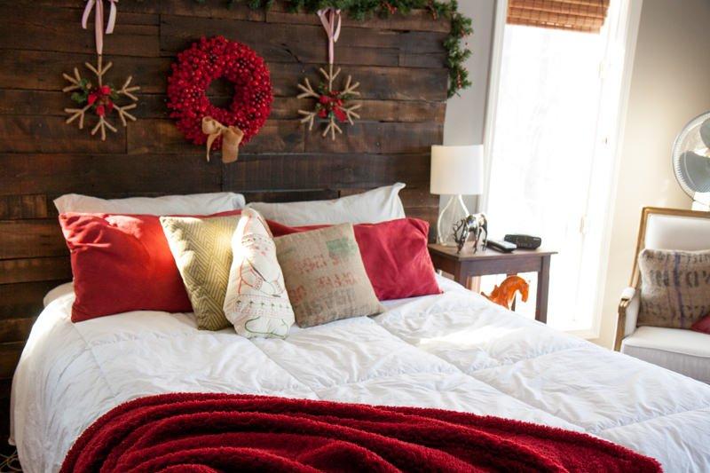 bedroom christmas