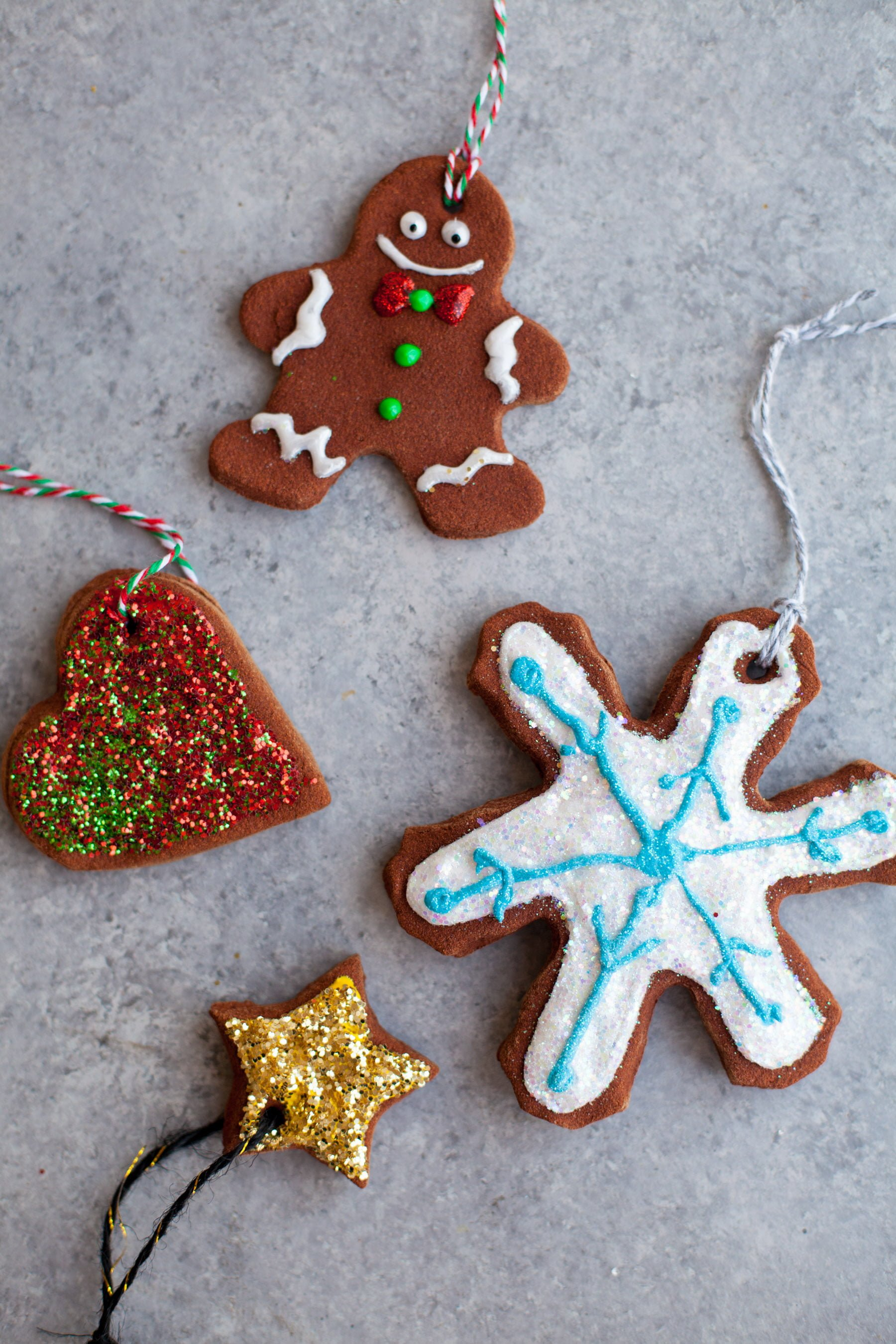 homemade cinnamon ornaments homemade cinnamon ornaments - Gingerbread Christmas Decorations Beautiful To Look