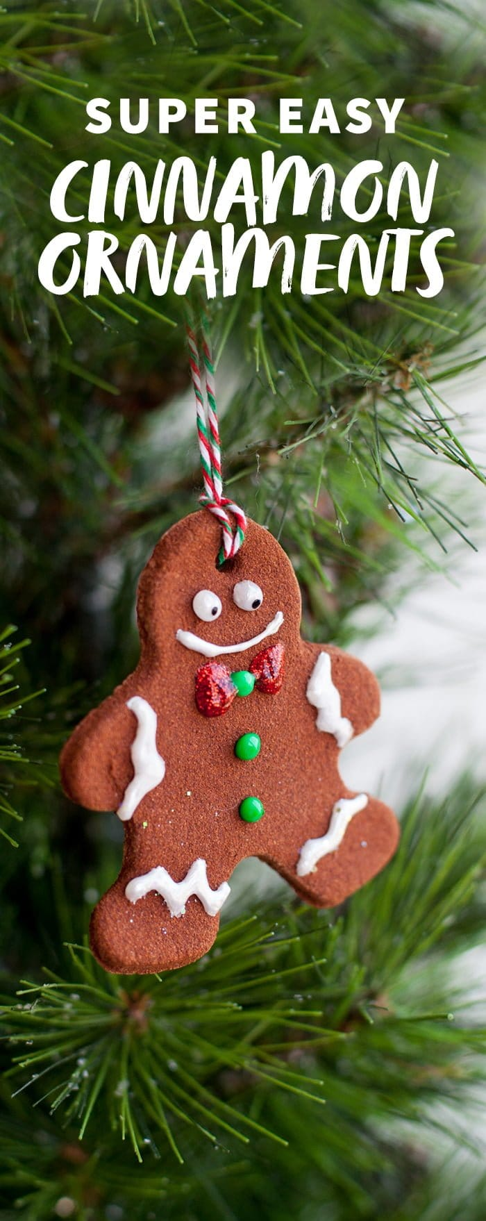 ornaments homemade cinnamon ornaments - Gingerbread Christmas Decorations Beautiful To Look