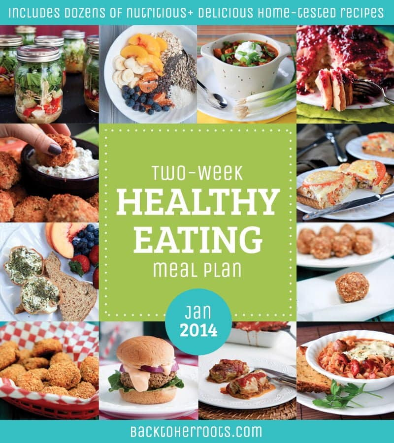 two-week healthy eating meal plan