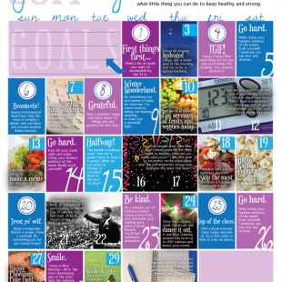 wellness calendar: january 2014 (free printable)